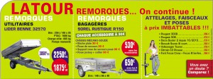 LATOUR Remorques : On continue les promotions.
